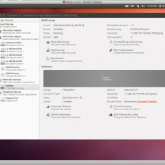 Automount software RAID array in Ubuntu
